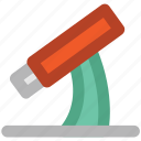 biology, lab, laboratory, telescope icon