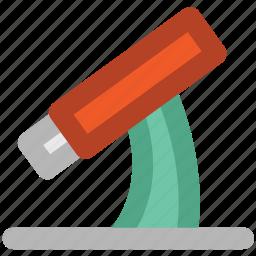 biology, lab, laboratory, telescope icon