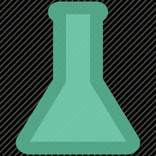 beaker, erlenmeyer flask, flask, lab test, lab testing, laboratory test, science lab icon