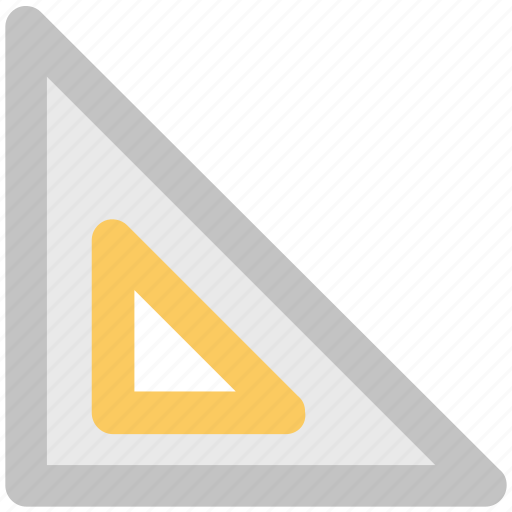 degree square, drafting, geometry, geometry tool, graphometer, semicircular, set square icon