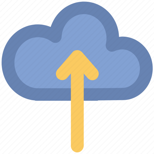 cloud, cloud computing, cloud uploading, storage cloud, upload icon