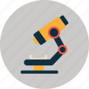 biology, chemistry, education, equipment, experiment, medical, microscope icon