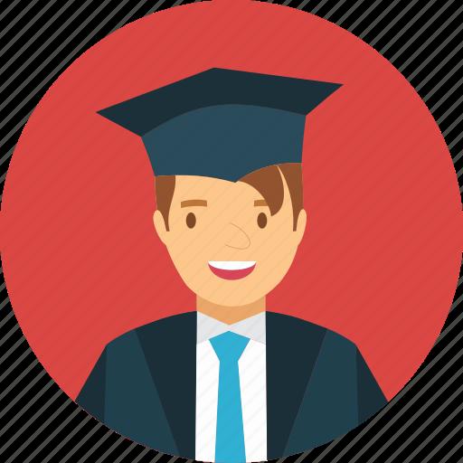 Avatar, College, Female, Graduate, Human, Learn, Student Icon