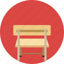 chair, decor, desk, desktop, home, household, table icon