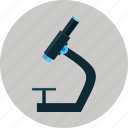 chemistry, education, experiment, lab, microscope, student, university icon
