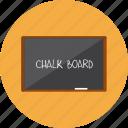blackboard, board, chart, data, file, report, school icon