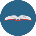 book, bookmark, computer, knowledge, notebook, read, star icon