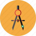compass, drawing, flag, location, map, navigate, travel icon