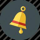 bell, calendar, church, notification, school, time, university icon