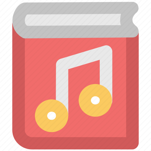 audio literature, audiobook, audiobook concept, ebook, music book icon