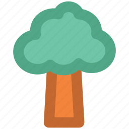 ecology, greenery, nature, shrub tree, tree icon