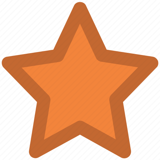 favorite, five pointed, ranking star, star, star shape icon