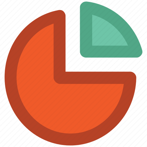 analytics, chart, infographics, pie chart, pie graph, statistic, stats icon