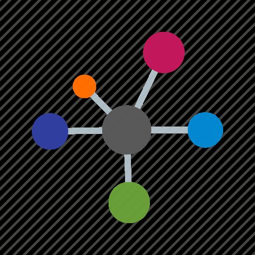 atom, bonding, electron icon