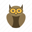 degree owl, graduate, owl icon