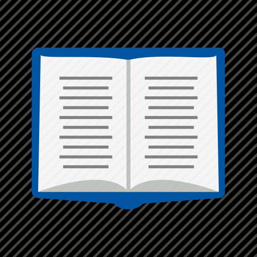 book, note book, reading icon
