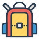 bag, briefcase, business, education, school, schoolbag, shopping icon