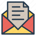 email, envelope, letter, mail, mailbox, message, openmail icon