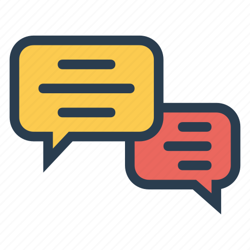 chat, communication, connect, interface, message, talking, technology icon