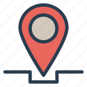 buttonpin, location, map, marker, navigation, pin, pinboard icon