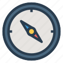 compass, direction, gps, location, map, navigation, tool icon