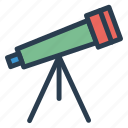 astronomy, microscope, science, space, spyglass, telescope icon