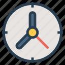 alarm, clock, oldclock, time, timer, wallclock, watch icon
