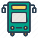 bus, school, transport, transportation, travel, van, vehicle icon