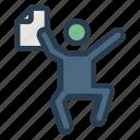 degree, face, happy, man, person, profile, user icon