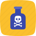 chemical, chemicals, flask, toxic icon