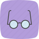 experiment, glasses, laboratory icon