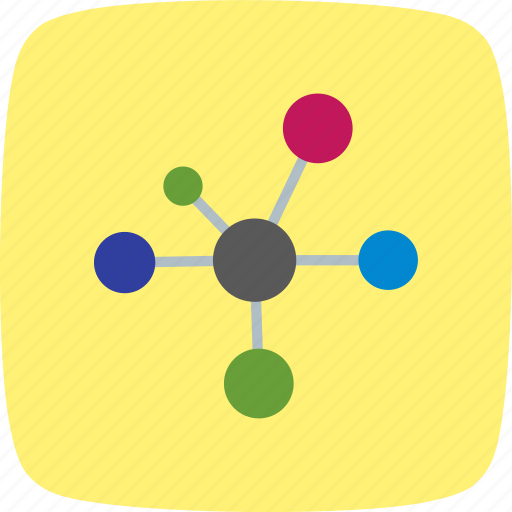 atom, bonding, molecule icon
