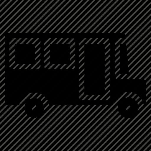 bus, education, school bus, study, transport, vehicle icon