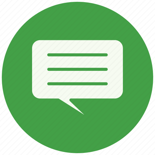 chat, communication, conversation, message, sms, speech, talk icon