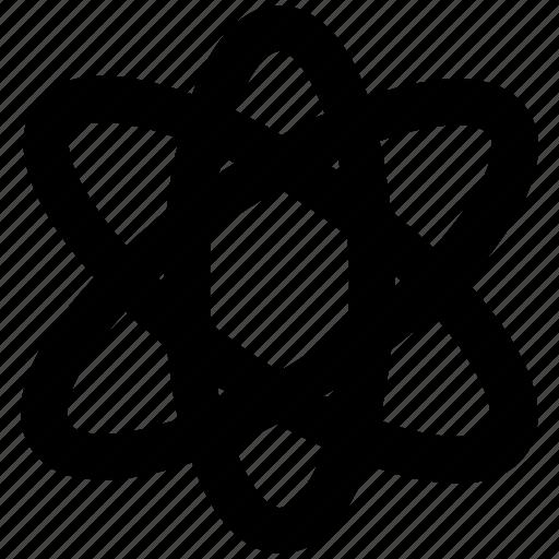 atom, molecular, molecule, nuclear, proton, science icon