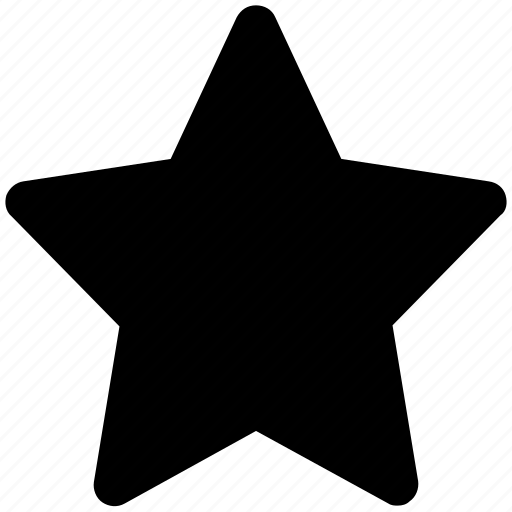 favorite, five pointed, like, ranking star, star, star shape icon