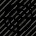 aim, arrow, bullseye, dart, focus, goal, target icon