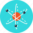 atom, energy, experiment, physics, power, research, science icon