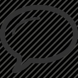 bubble, chat, conversation, speech bubble, support, talk icon