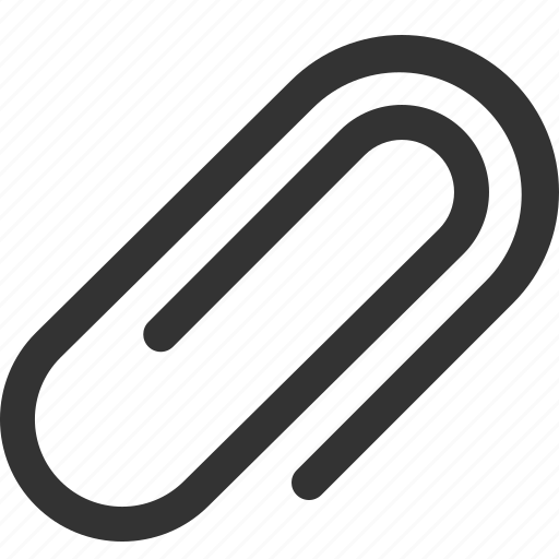 attach file, attachment, clip, file attachment, paper clip, paperclip icon