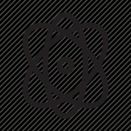 atom, design, election, electron, element, graphic, tool icon