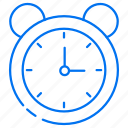 alarm, education, time icon