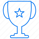 award, cup, star, trophy icon