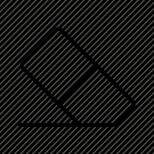 clean, clear, delete, erase, eraser, remove, rubber icon