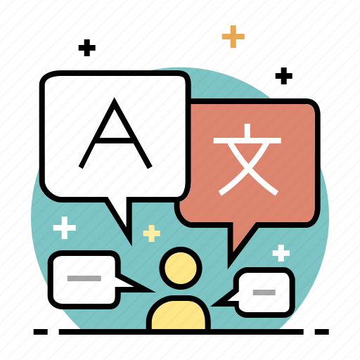 communication, education, international, language, learning, speak, speech icon