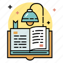 book, education, learn, literature, read, reading, study icon