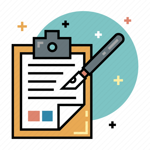 education, list, note, review, take, taking, writing icon