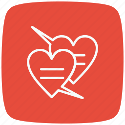 chat, communication, hat love, interaction, love, speech, valentine icon