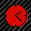 alarm, clock, piece, schedule, time icon