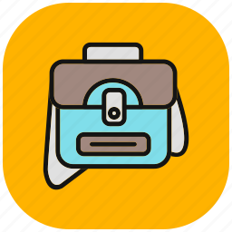 bag, business, ecommerce, marketing, portfolio, shopping, suitcase icon